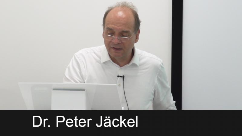 Sample lecture video - Peter Jäckel